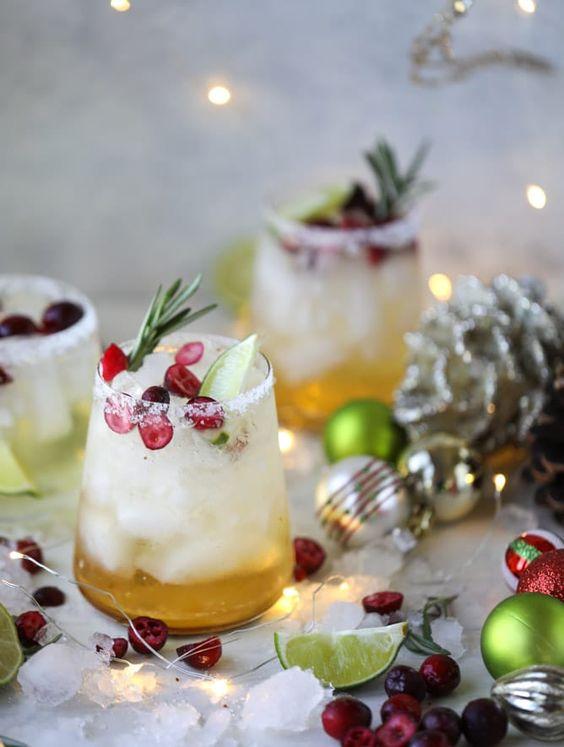 Los mejores drinks para Navidad - 2-mistletoe-margarita