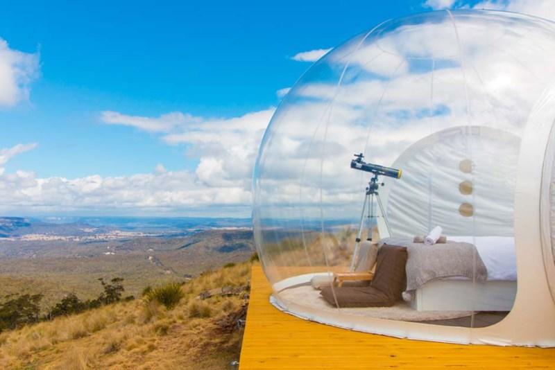 Bubble hotels que tienes que conocer - bubbletent-australia