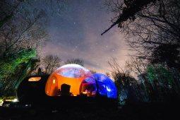 Bubble hotels que tienes que conocer - Finnlough Bubble Domes PORTADA