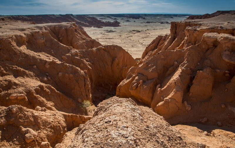 Mongolia, el lugar con un cielo eternamente azul - mongolia-tierra-desierto