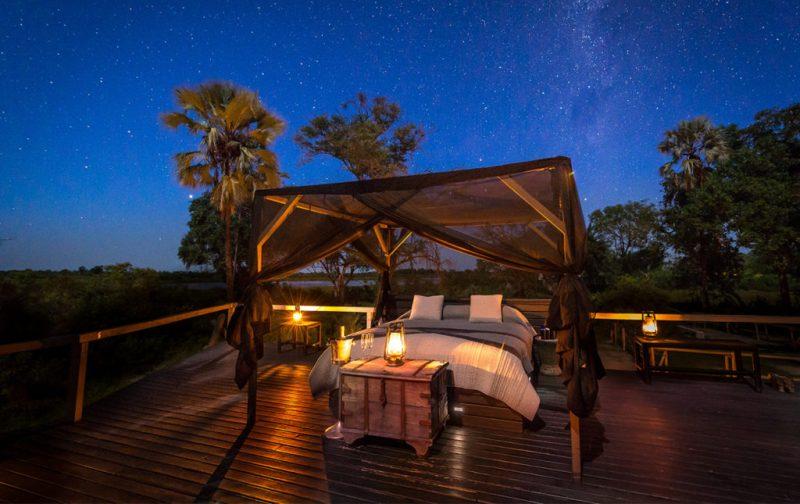 Viajes Planeta Azul, experiencias que marcan tu vida - portada-cama-noche-estrellas-romantico-velas-natural