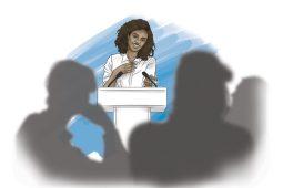 Vestimenta para hablar en público - portada ilustración hablar público