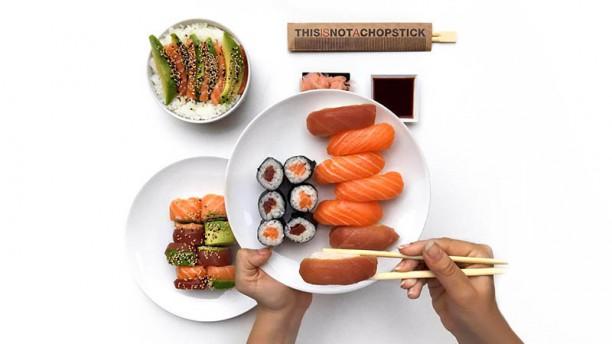 This Is Not a Sushi Bar, el restaurante en el que puedes pagar con likes en Instagram - this-is-not-a-sushi-bar-1