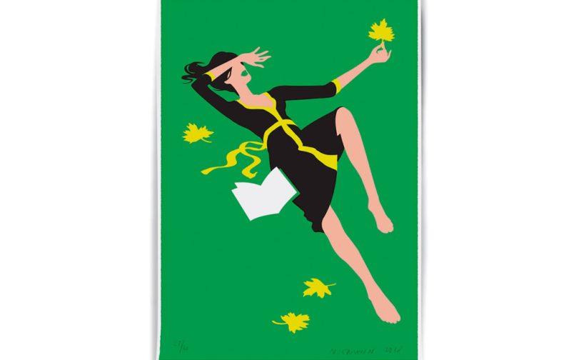 Christoph Niemann, excepcional ilustrador - ilustracion-mujer-flores