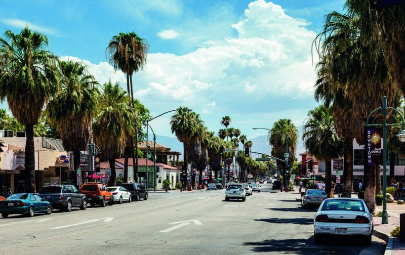 48 horas en Palm Springs - palm-springs-main-street