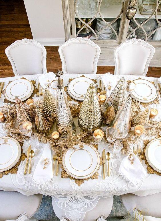 Centros de mesa navideños fáciles y rápidos de hacer - Portada. Arreglos de mesa