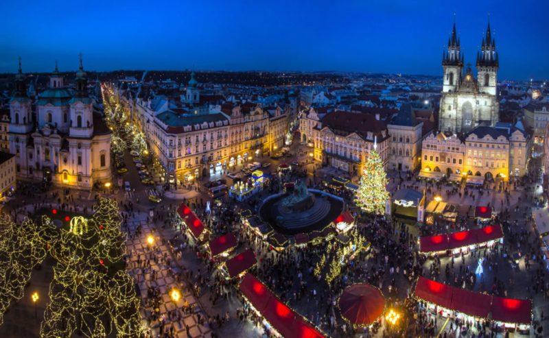 Los pueblos más navideños del mundo - pueblosnavidencc83os_praga