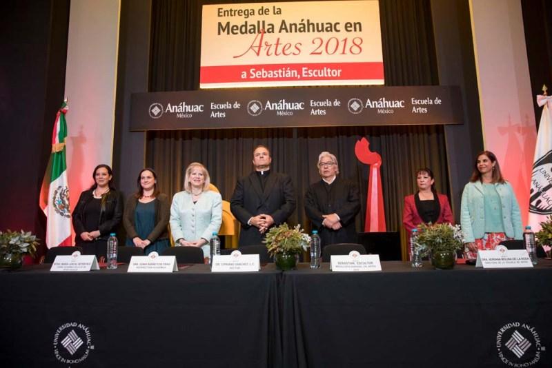 La Escuela de Artes de la Universidad Anáhuac México reconoce al escultor Sebastián - sebastian_mesadirectiva