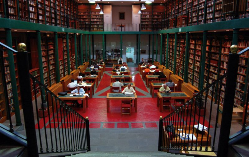 Biblioteca de México: conjunto de infinitos - fondo-de-mexico