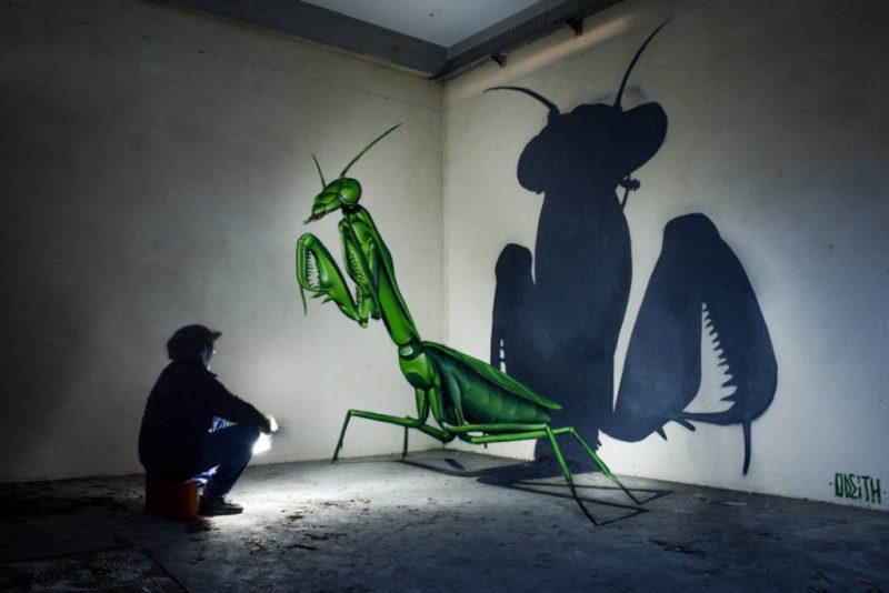 Los grafitis en 3D más impresionantes de Odeith - grafitis-impresionantes-4
