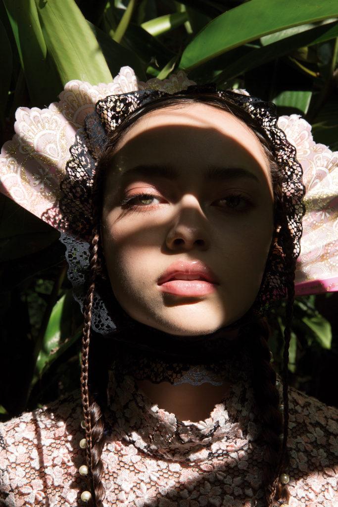 Nature love affair: una exploración de la feminidad y la naturaleza - modelo-retrato-moda-makeup-naturaleza