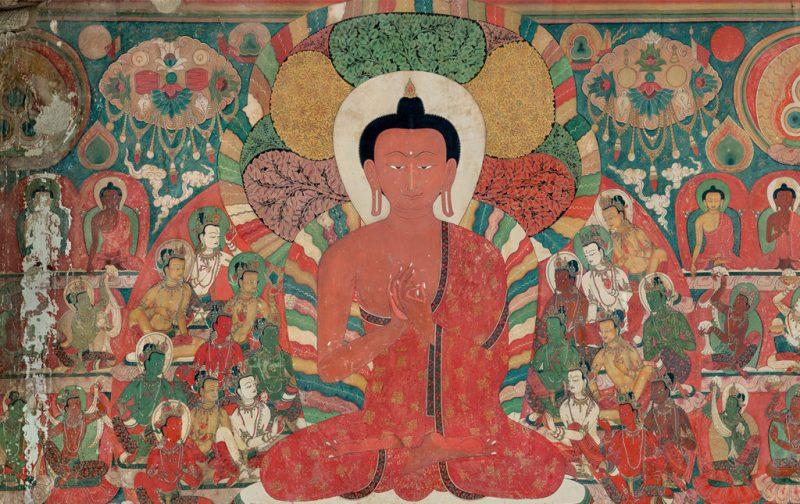 Thomas Laird y los murales del Tíbet - murals-of-tibet-colores-mural