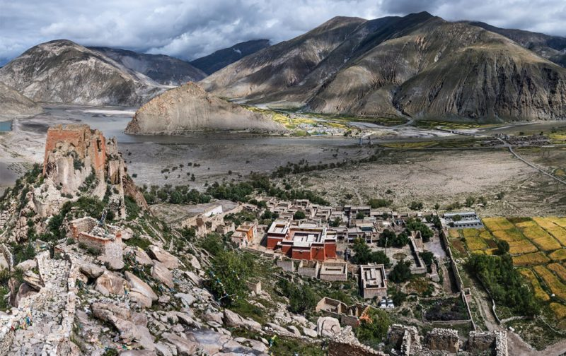 Thomas Laird y los murales del Tíbet - murals-of-tibet
