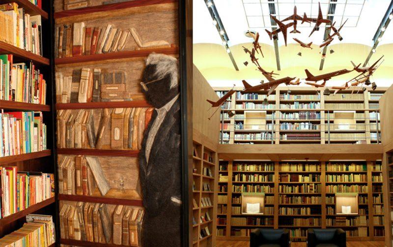 Biblioteca de México: conjunto de infinitos - sala-jlm-vuelo-de-tinta-betsabee-romero