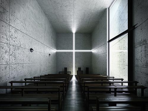 Las obras arquitectónicas más icónicas de Tadao Ando - tadaoando_iglesia