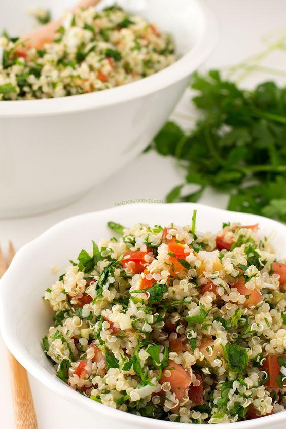 Recetas ligeras, fáciles y saludables para cenar - 1-ensalada-de-quinoa
