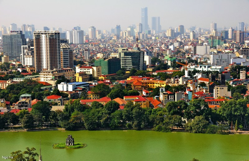 Guía para visitar Hanói - hanoi-skyline