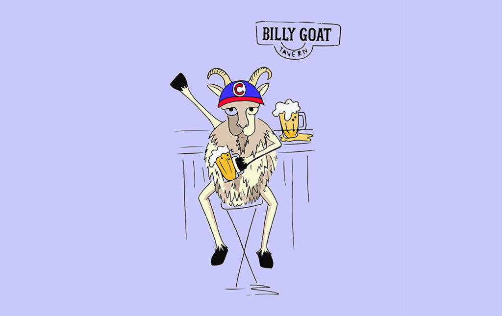 La cabra que lo cambió todo: Billy Goat - ilustración goat