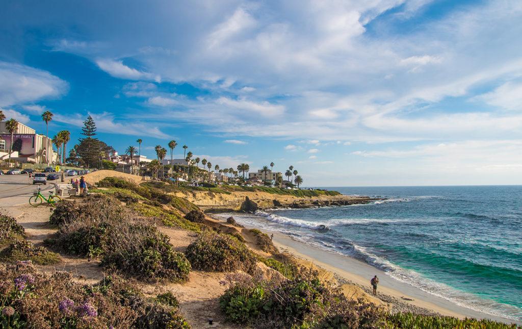 San Diego a la redonda: contrastes del sur de California - San Diego beach