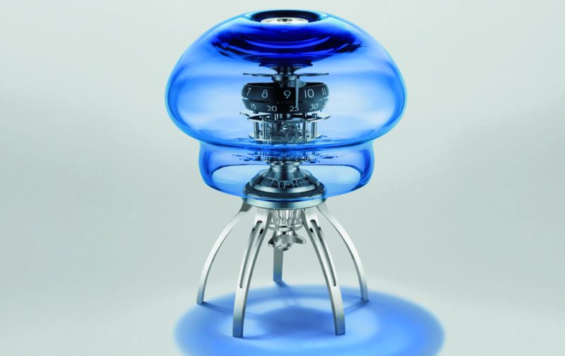 Medusa, un reloj-escultura - medusa-1
