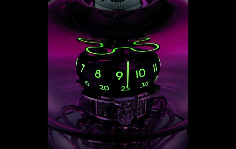 Medusa, un reloj-escultura - medusa-3