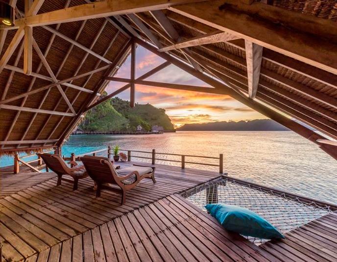 Hoteles ecológicos en el mundo que debes conocer - misool-eco-resort-en-las-islas-raja-ampat-indonesia