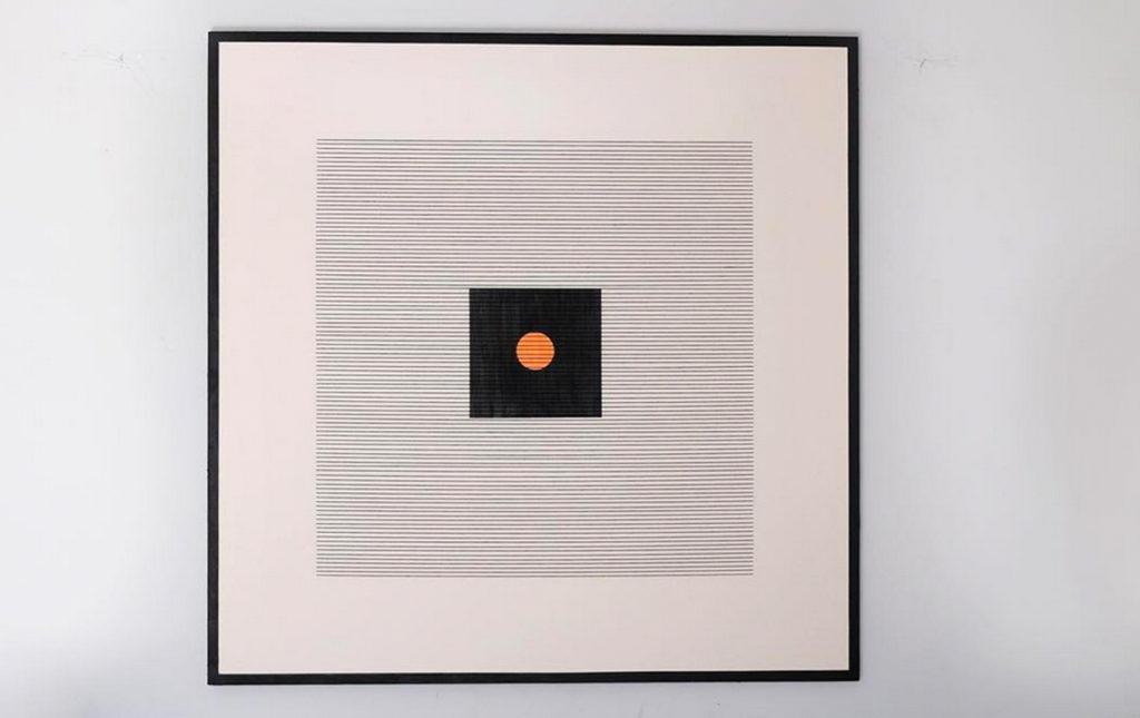 Anónimo: subastas de arte - PORTADA arte anónimo cuadro geométrico