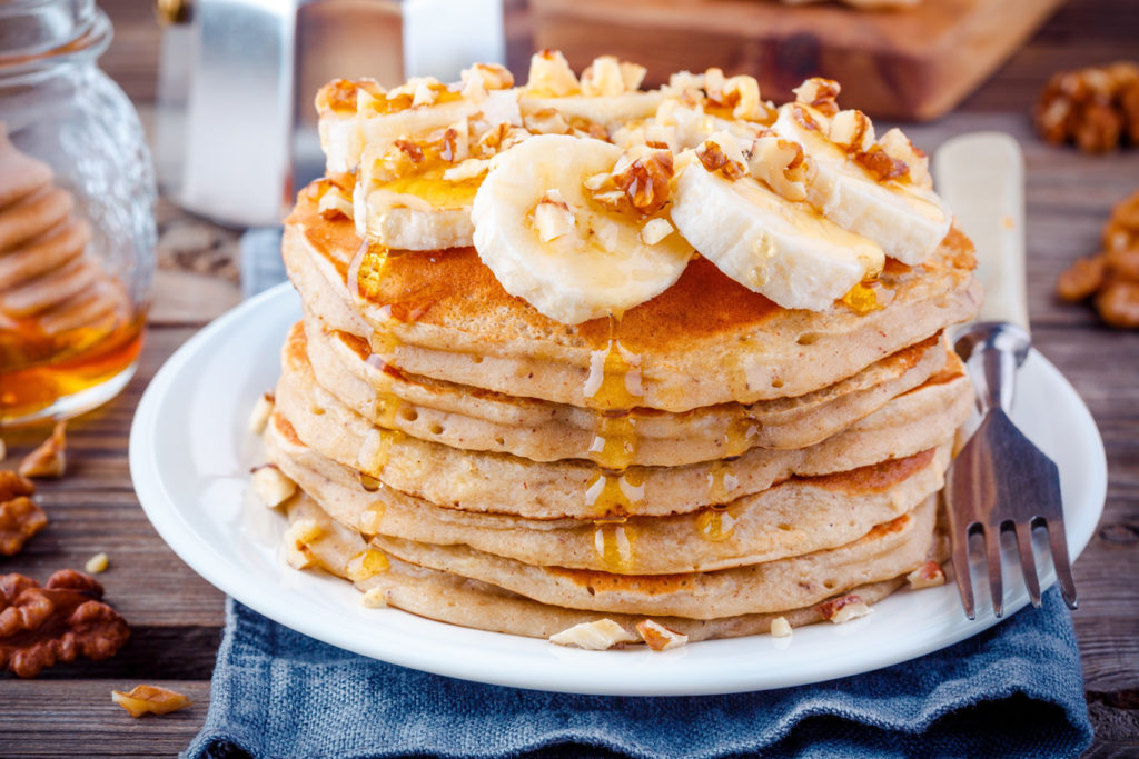 Recetas súper fáciles y deliciosas para todo el día - 1. Hotcakes de avena PORTADA