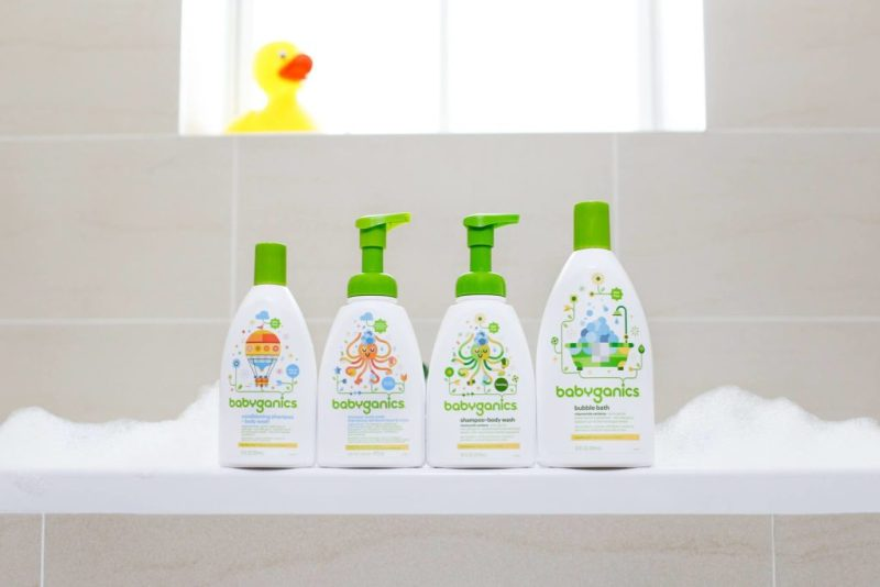 5 marcas de productos sin químicos para bebés - babyganics-hotbook
