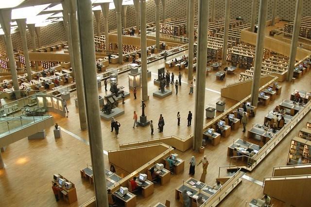 Las bibliotecas más bonitas del mundo - bibliotecas_alexandrina