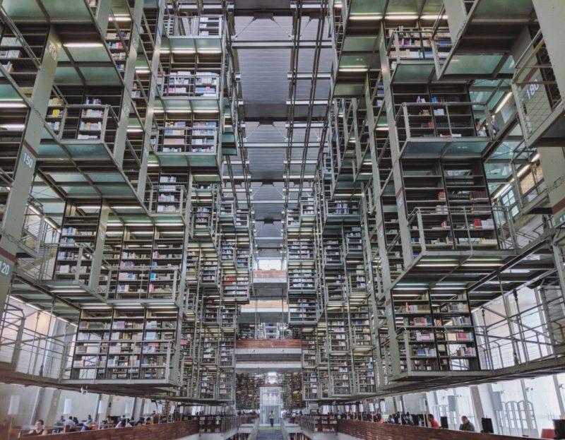 Las bibliotecas más bonitas del mundo - bibliotecas_vasconcelos