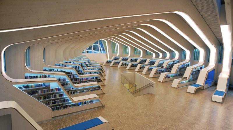 Las bibliotecas más bonitas del mundo - bibliotecas_vennesla