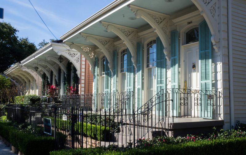 La gastronomía única de Nueva Orleans - casas-nueva-orleans-calle