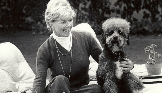 Datos que no sabías sobre Doris Day - dorisday_dayconperro