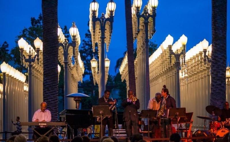 Increíbles conciertos al aire libre en Los Ángeles - hotbook-increibles-conciertos-al-aire-libre-en-los-angeles_lacma-jazz-nights