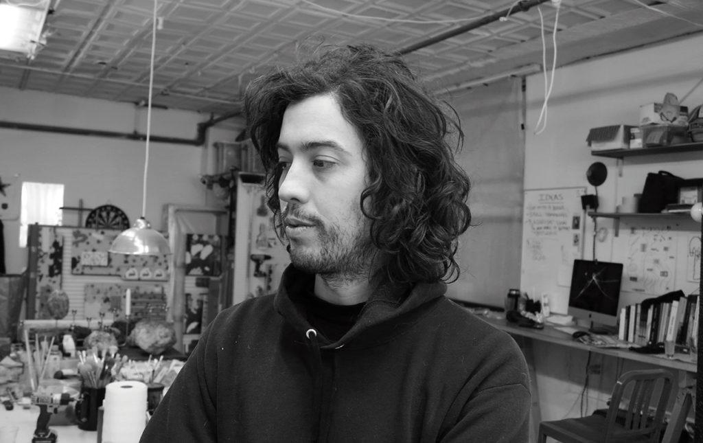 Josh Reames: libre de mensajes didácticos - Josh Reames arte artista pintura