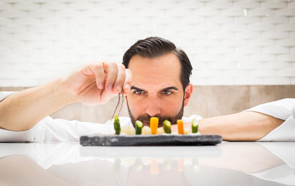 Coque: tradición familiar y gastrogenómica - PORTADA mario chef restaurante michellin