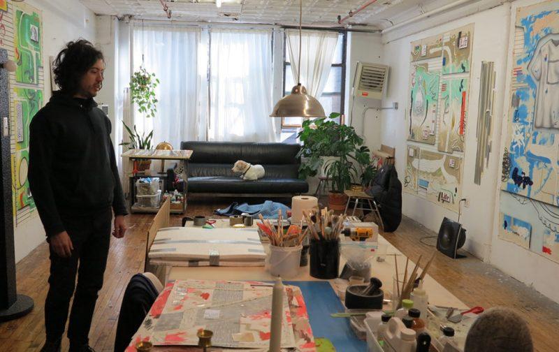 Josh Reames: libre de mensajes didácticos - taller-artista-cuadros-pintura