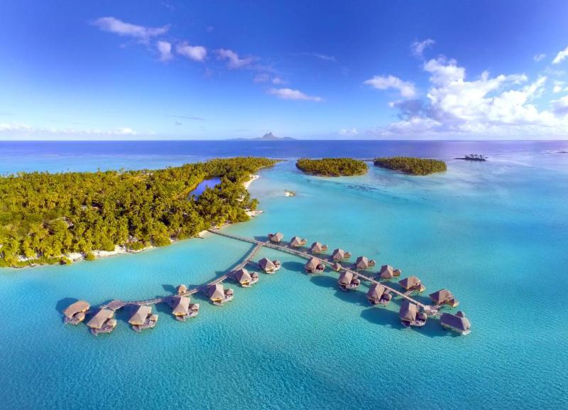 Los mejores resorts con bungalós sobre el agua - hotelesbungalos_letahaa