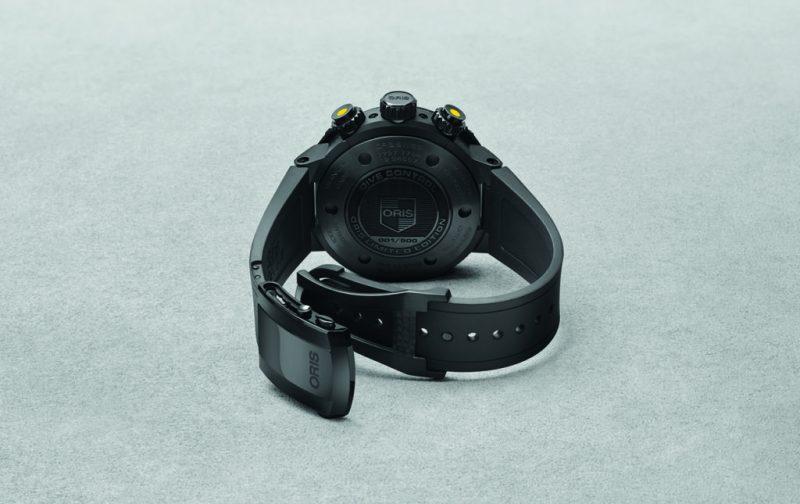 Oris Dive Control Limited Edition, un reloj para buzos profesionales - oris-drive-2