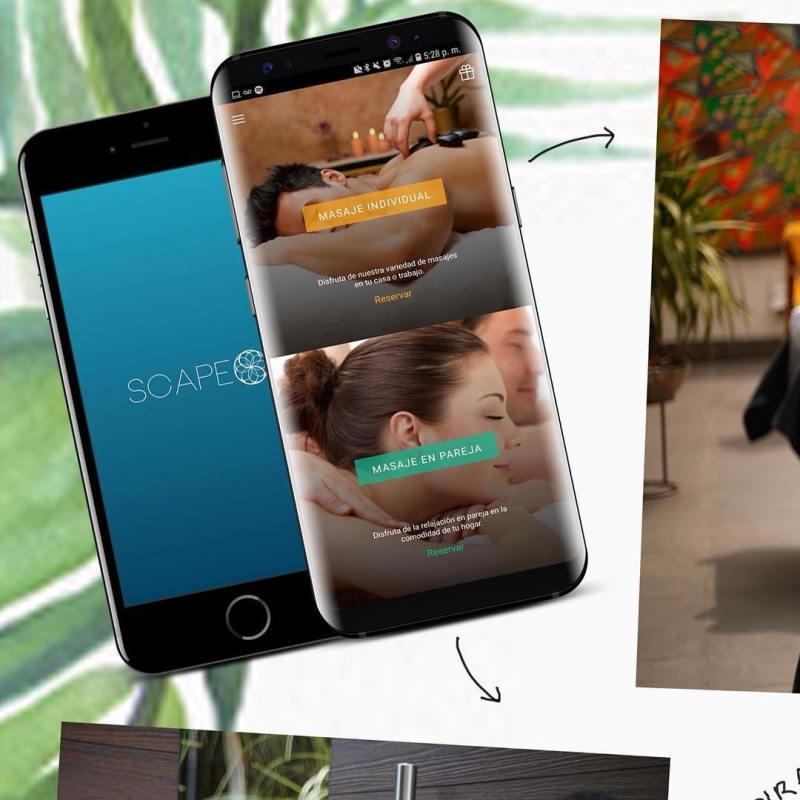 Helle Jeppsson es cofundadora de la mejor app de masajes a domicilio - 4-scape