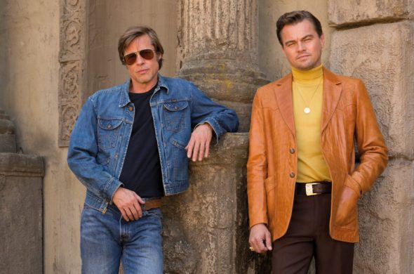 Leonardo DiCaprio y Brad Pitt en Once Upon a Time in Hollywood