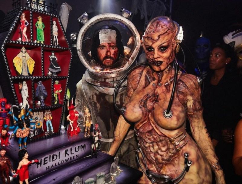 Los disfraces más cool de celebrities a través de los años - halloween-heidi