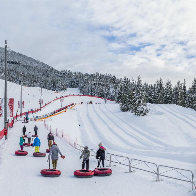 5 actividades que no te puedes perder en Whistler esta temporada - coca-cola-tube-park