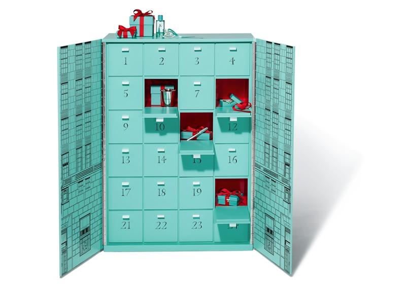 Los mejores advent calendars para recibir la Navidad - tiffany