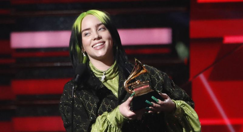 Todos los ganadores de los Premios Grammy 2020 - billie-eilish-cancion