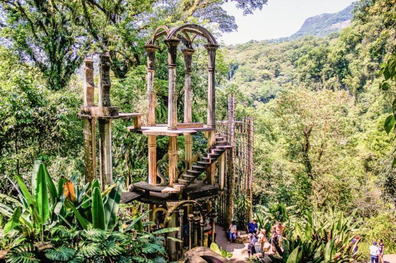 Lugares para visitar en México este 2020 - xilitla-las-pozas