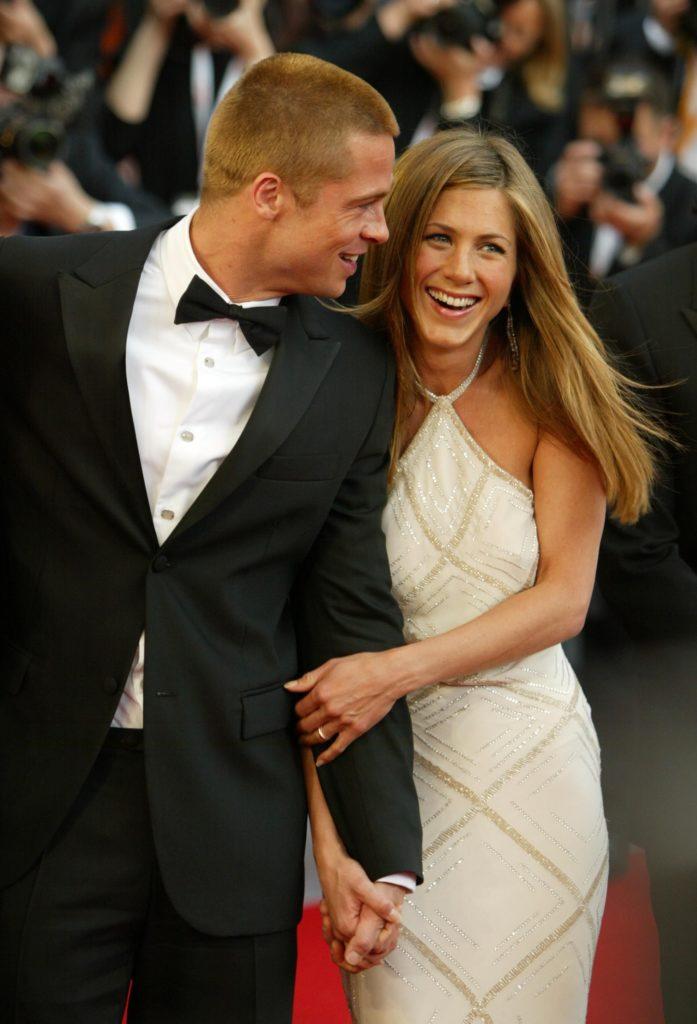Todo lo que no sabías sobre Jennifer Aniston, la aclamada estrella de Friends - jennifer-aniston-brad-pitt