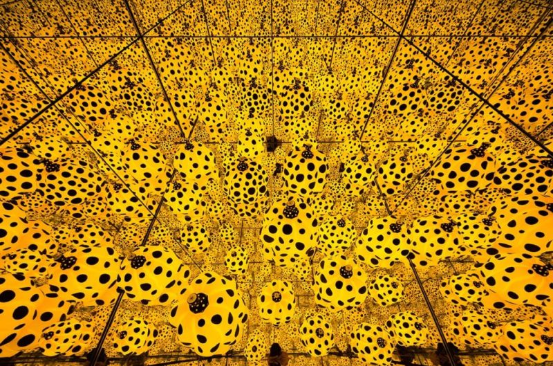 Infinity Rooms, la extraordinaria creación de Yayoi Kusama - yayoi-kusama-5