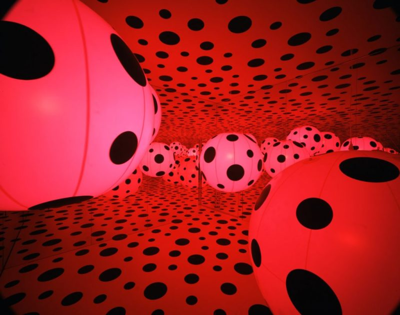 Infinity Rooms, la extraordinaria creación de Yayoi Kusama - yayoi-kusama-9